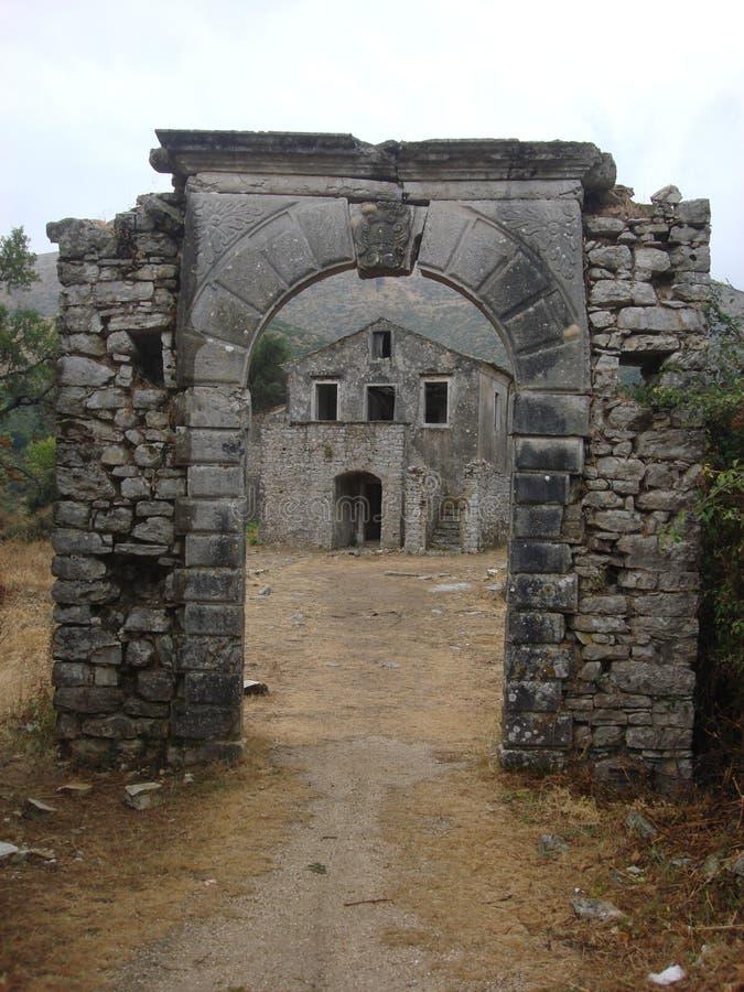 CORFU ISLAND, GREECE royalty free stock images