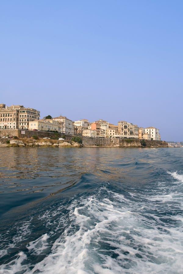 Corfu portrait royalty free stock photo