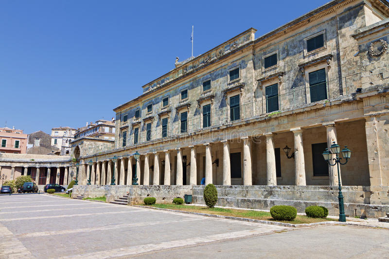 Corfu wyspa w Grecja zdjęcia stock