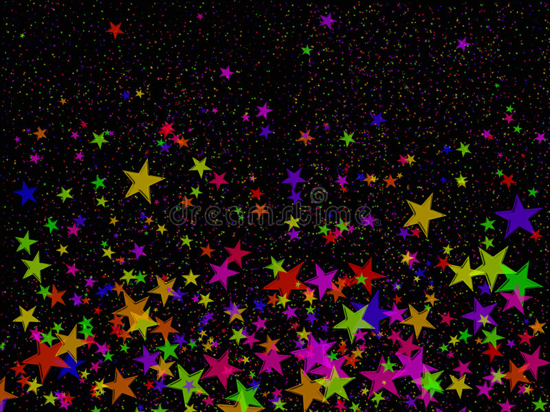 Download Coriandoli fotografia stock. Immagine di notte, colorful - 7319692