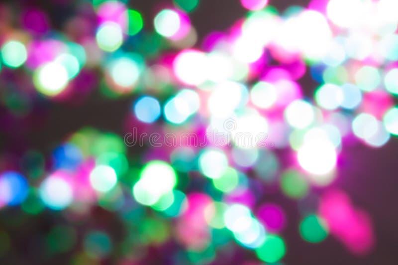 Coriandoli defocused multicolori fotografia stock