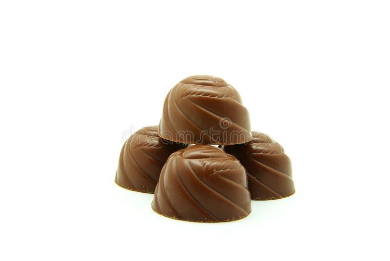 Coriandoli del cioccolato fotografia stock libera da diritti