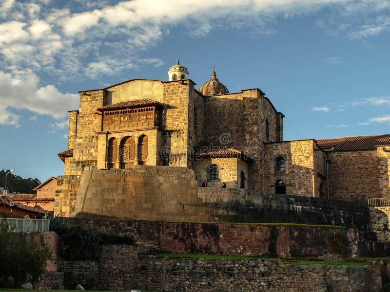 Coricancha - temple du Sun images libres de droits