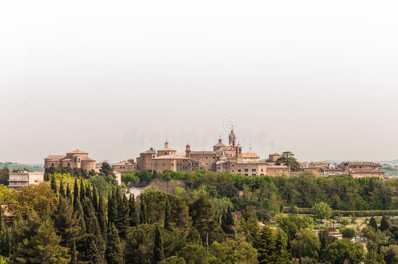Corinaldo Marche Italië stock foto