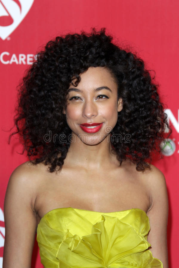 Download Corinne Bailey Rae editorial stock image. Image of arrives - 23456379