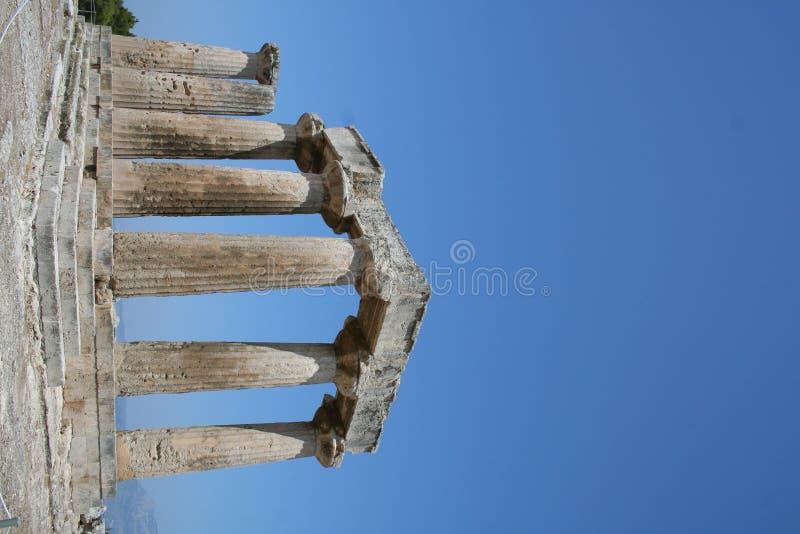 Corinth antiguo imagenes de archivo