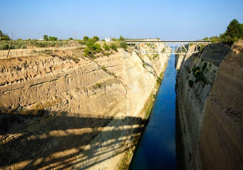 Download Corinth Canal stock image. Image of bridge, corinth, greek - 7020083