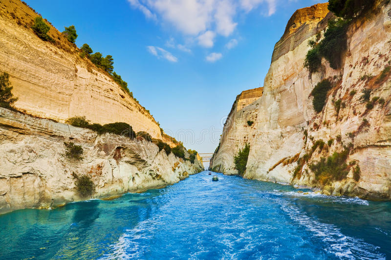 Download Corinth Channel In Greece Royalty Free Stock Photo - Image: 19192585