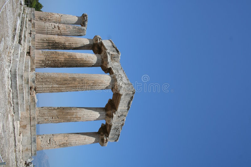 Corinthe antique images stock