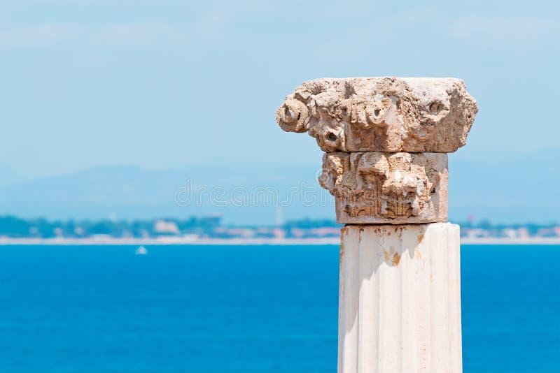 Download Corinthian capital stock image. Image of tharros, column - 32176749