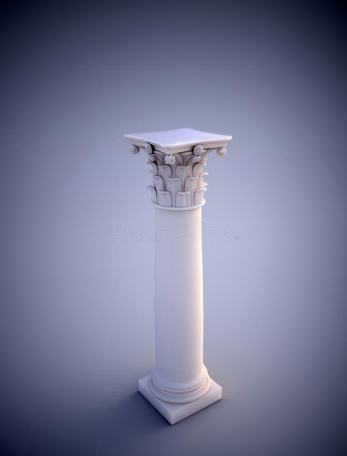Corinthian Column Royalty Free Stock Photo