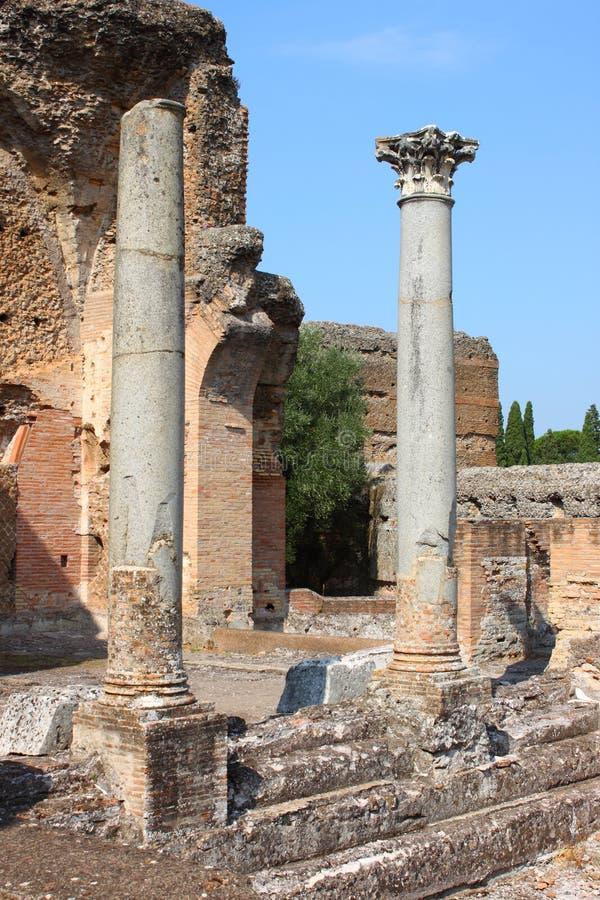 Corinthian columns royalty free stock photo
