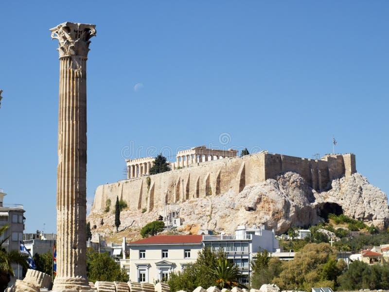 Download Corinthian Order Column Of Olympian Zeus Temple Royalty Free Stock Image - Image: 16792326