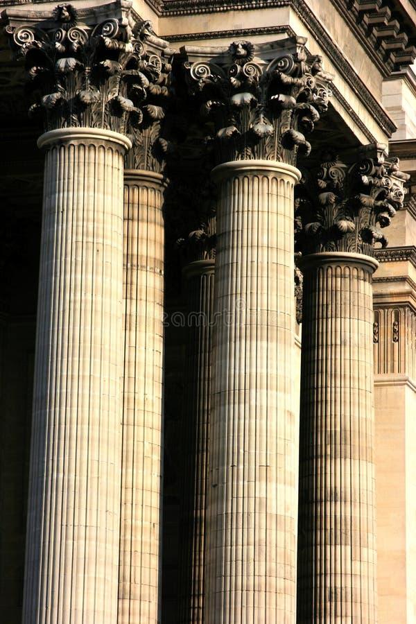 Corinthische capitol stock foto's