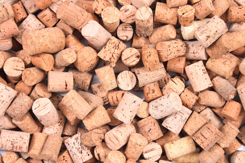 Cork background. Very nice cork background from the cpas from wine bottles stock photo