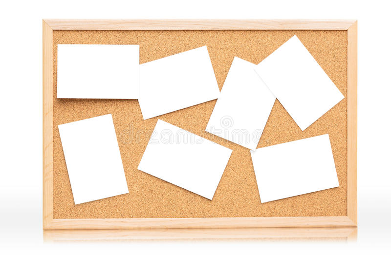 The cork board royalty free stock photo