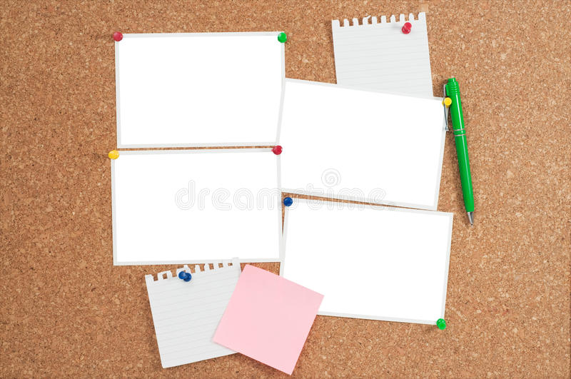 Download Cork Board With Blank Photo Prints Stock Photo - Image: 10522834