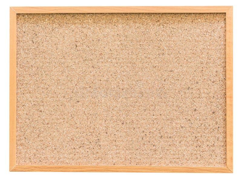 Cork board isolated on white background. Cork board isolated on a white background royalty free stock image