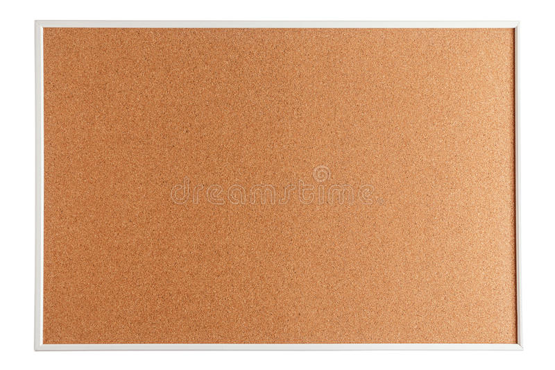Download Cork Board Isolated On White Stock Image - Image of wood, mockup: 78045359
