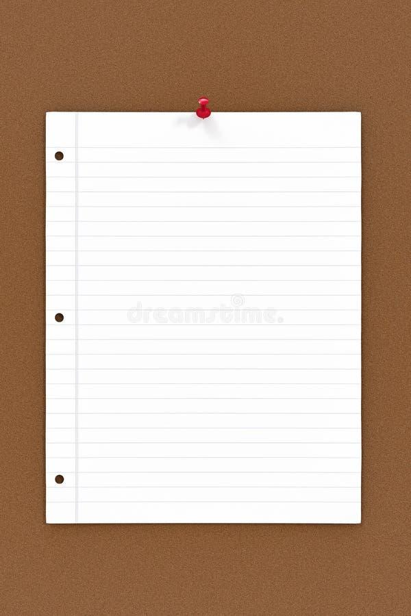 Download Cork Board Notes stock illustratie. Illustratie bestaande uit document - 39111187