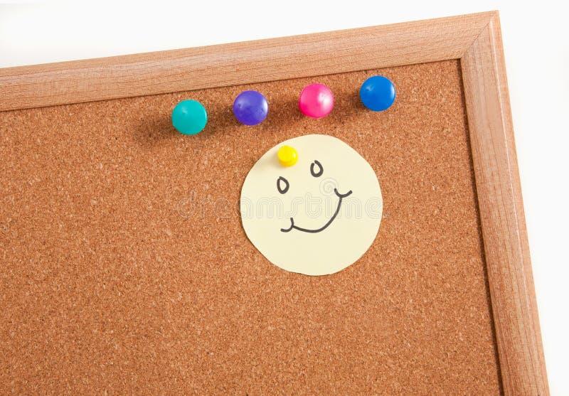 Cork Board Notes Royalty Free Stock Image