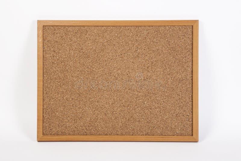 Cork board onwhite background. Cork board isolated on white background stock photo