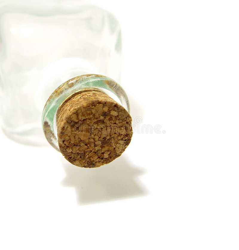 Cork and bottle royalty free stock photo