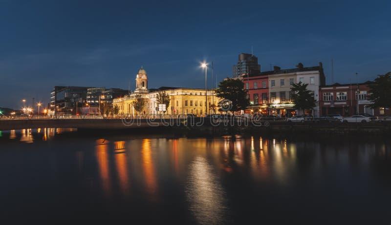 Cork City Hall imagen de archivo libre de regalías