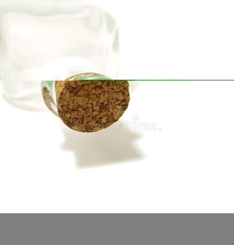 Download Cork en fles stock afbeelding. Afbeelding bestaande uit drinking - 46405