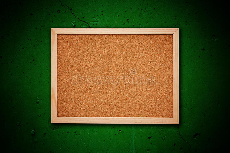 Cork geheugenraad royalty-vrije stock afbeelding