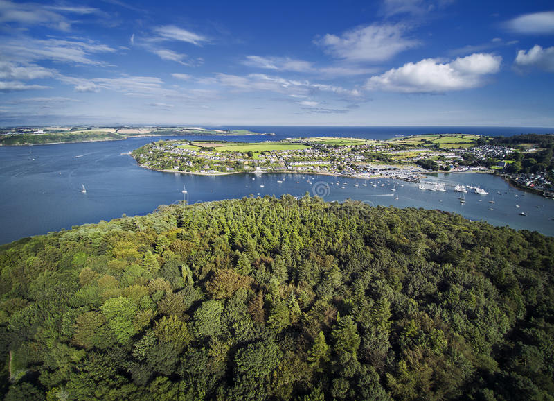 Cork Harbour royalty-vrije stock afbeelding