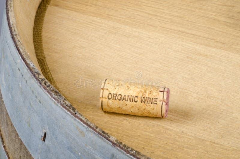 Download Cork Labelled Organic Wine stock image. Image of cork - 25678165
