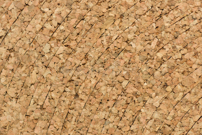 Cork layers royalty free stock image