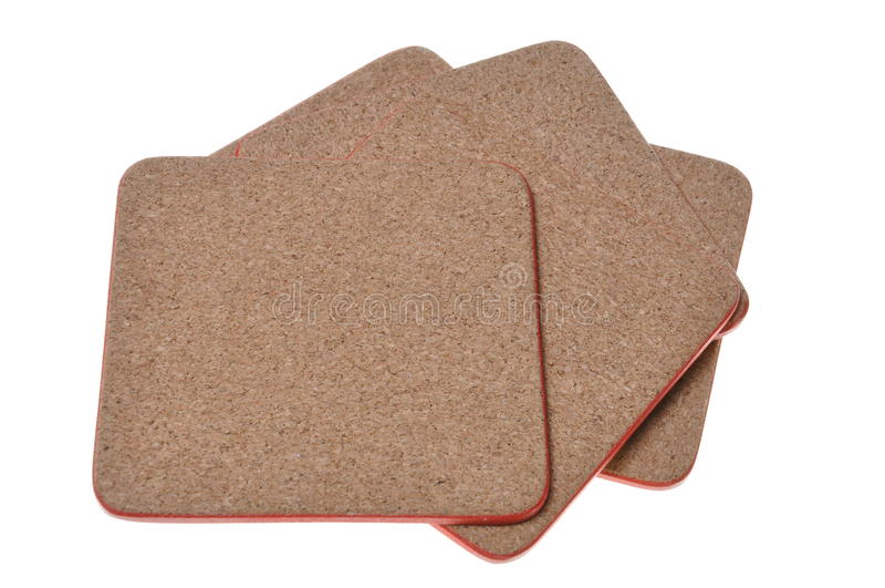 Download Cork mat with red border stock image. Image of decoration - 28091899