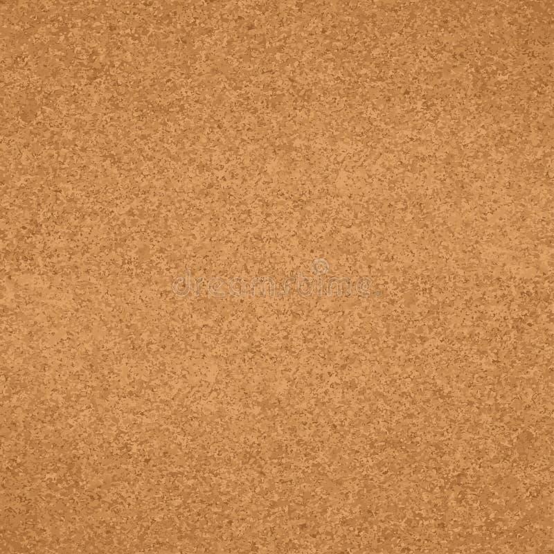 Cork naadloze patroon van de raads het houten textuur stock foto's