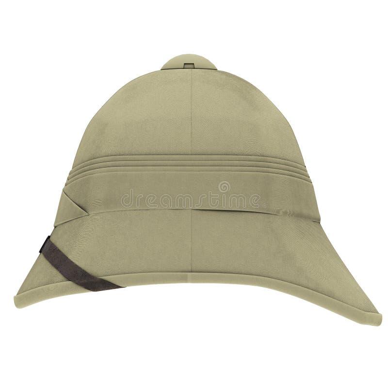 Cork Pith Helmet stock illustratie