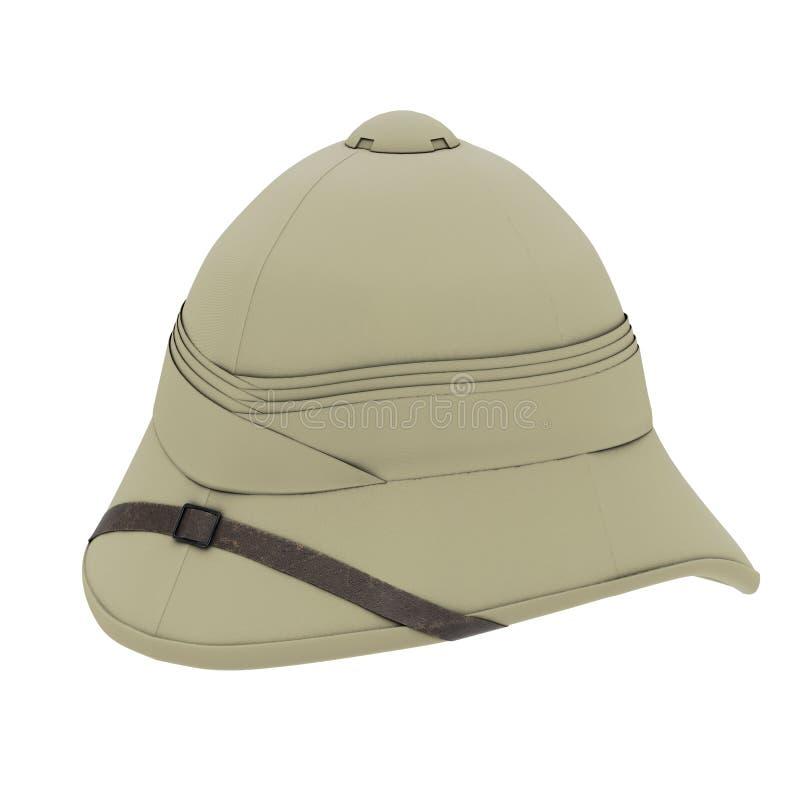 Cork Pith Helmet vector illustratie