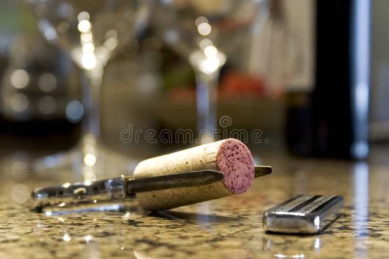 Download Cork Puller stock photo. Image of object, color, kitchen - 473978