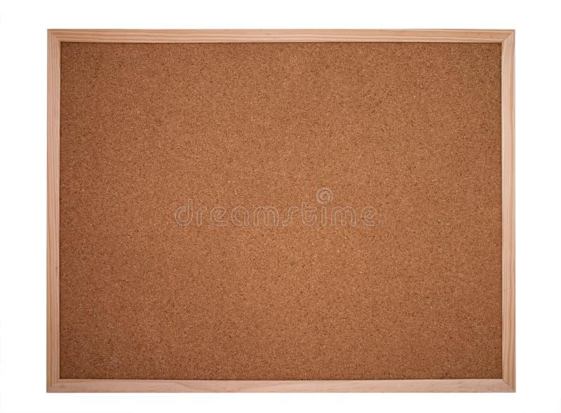 Cork raad of prikbord stock fotografie