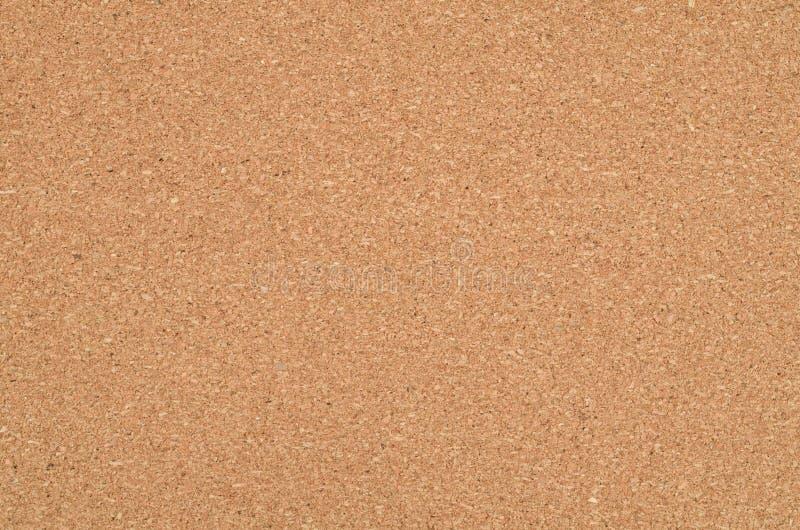 Cork servet achtergrondtextuur met beschikbare ruimte voor exemplaartekst De achtergrond van Corkboard Textuur van vlakke cork se stock foto