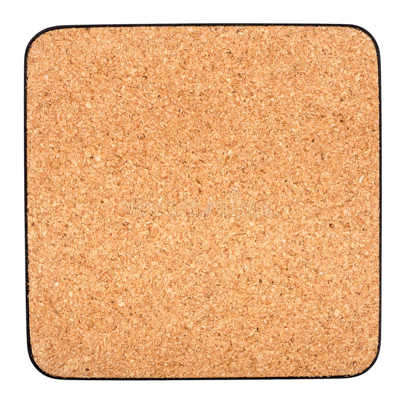 Download Cork table coaster stock photo. Image of empty, cork - 24400276