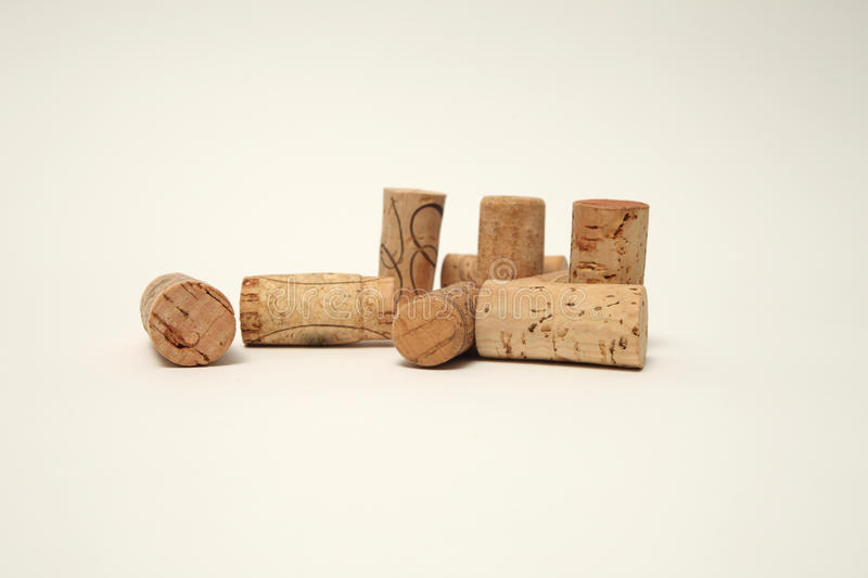 Download Cork on white backgroun stock photo. Image of taste, white - 11391066