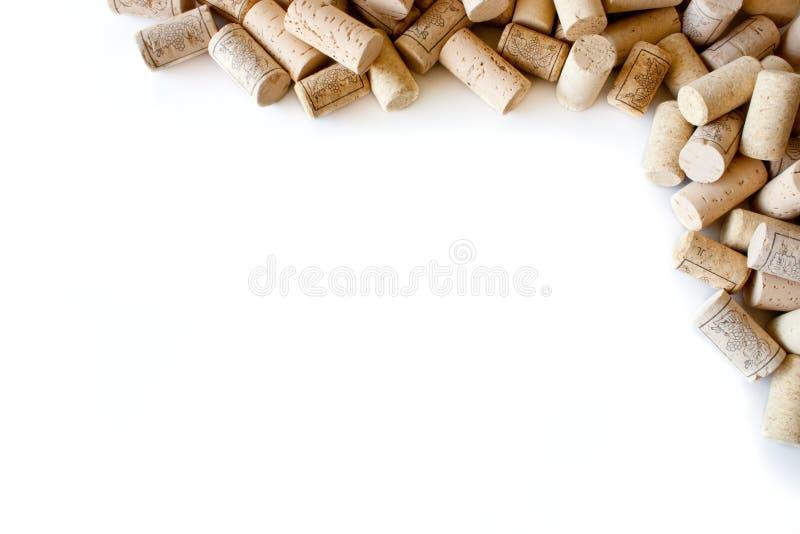 cork wine royaltyfri bild