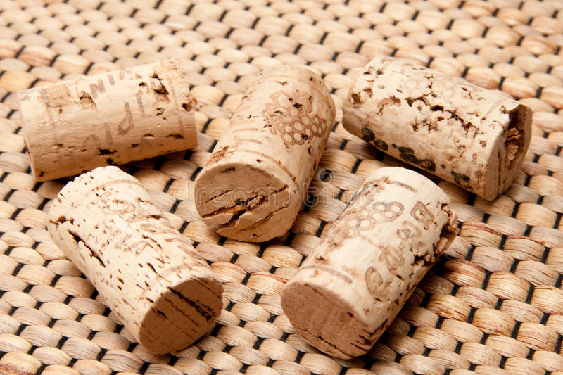 Cork of a wine bottle