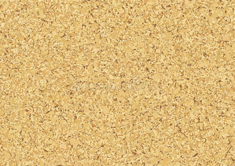 Cork Wood Texture Background illustrazione di stock