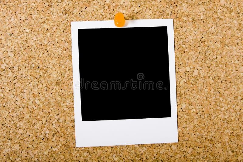 corkboard人造偏光板 免版税图库摄影