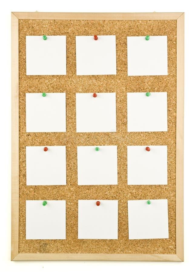 Corkboard fotos de archivo