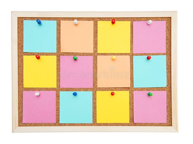 Corkboard fotos de archivo libres de regalías