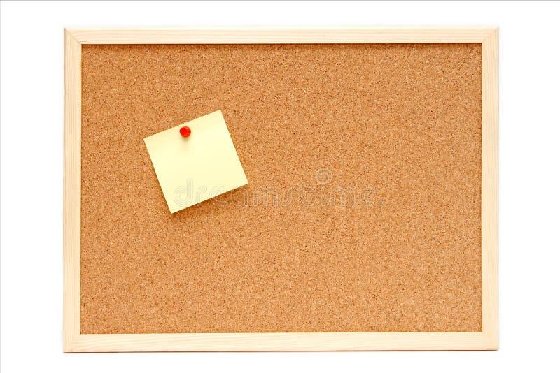 Corkboard στοκ εικόνες με δικαίωμα ελεύθερης χρήσης