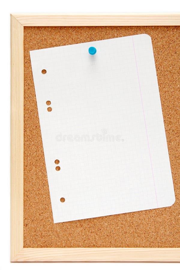 Corkboard photo libre de droits